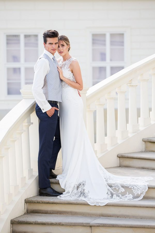 Brautkleid MissGermany 2019 Ivory Carmen MGB36 2 Bei Avorio Vestito Brautmode In Berlin