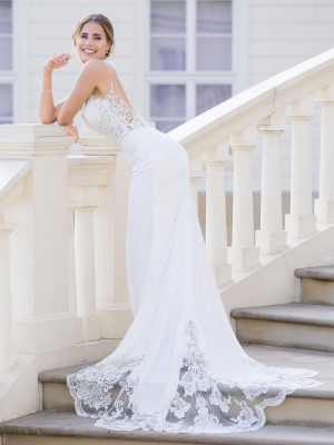 Brautkleid MissGermany 2019 Ivory Carmen MGB36 3 Bei Avorio Vestito Brautmode In Berlin