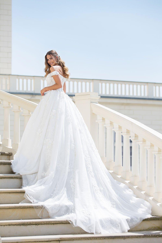 Brautkleid MissGermany 2019 Ivory Casablanca MGB30 1 Bei Avorio Vestito Brautmode In Berlin
