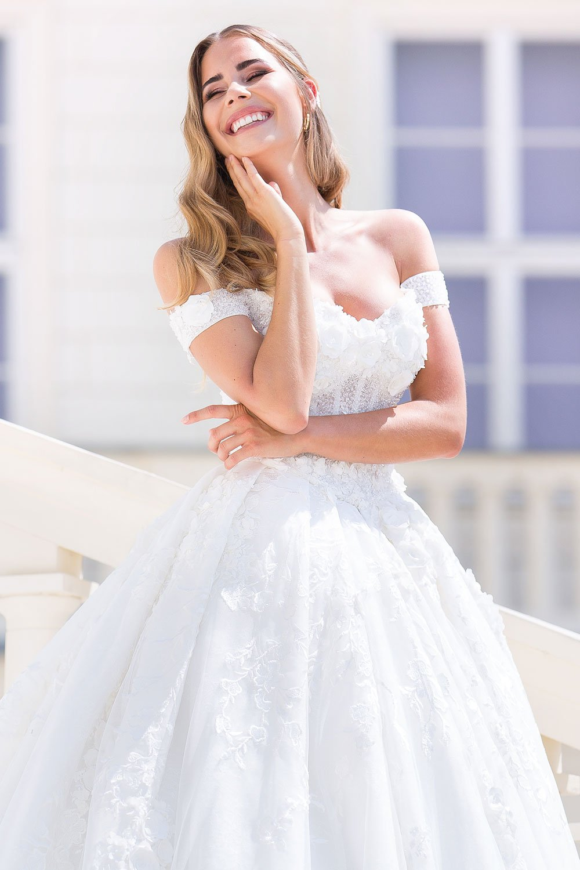 Brautkleid MissGermany 2019 Ivory Casablanca MGB30 2 Bei Avorio Vestito Brautmode In Berlin