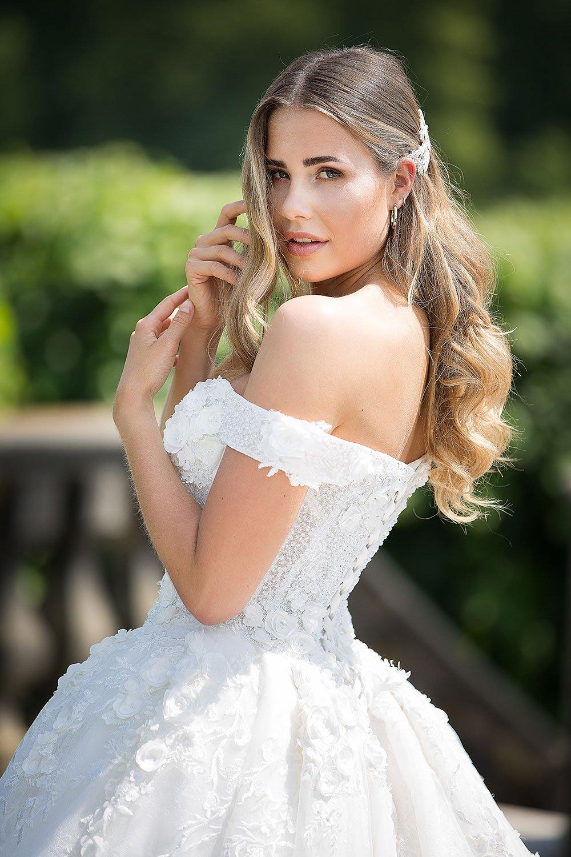 Brautkleid MissGermany 2019 Ivory Casablanca MGB30 8 Bei Avorio Vestito Brautmode In Berlin