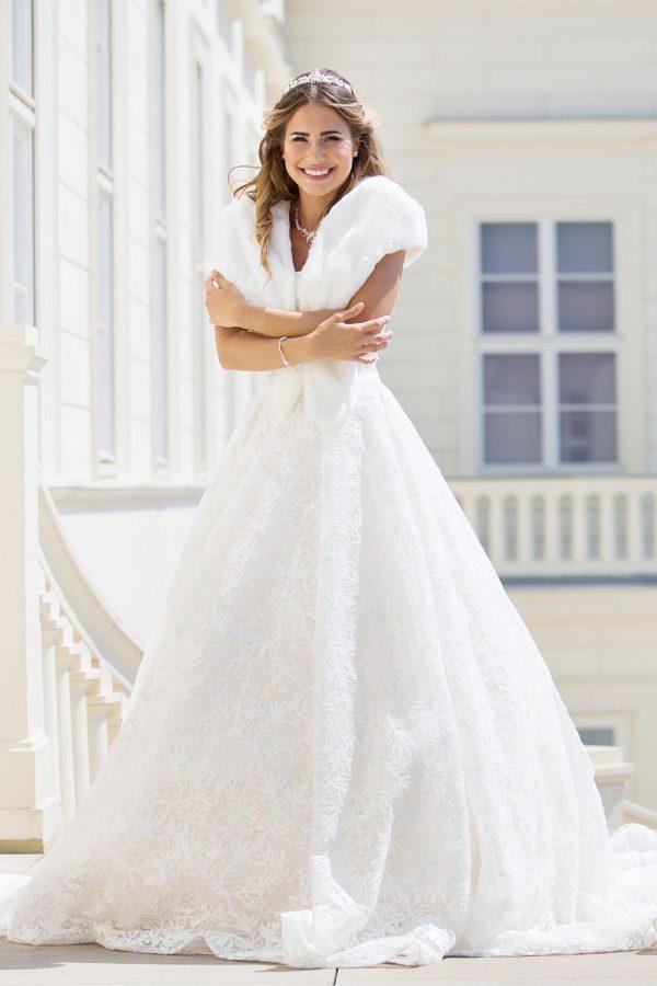 Brautkleid MissGermany 2019 Ivory Elsa MGB24 1 Bei Avorio Vestito Brautmode Berlin