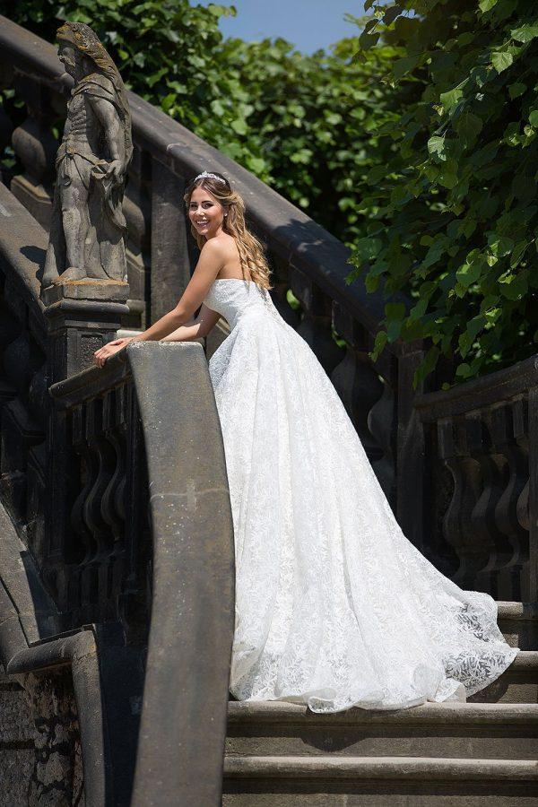 Brautkleid MissGermany 2019 Ivory Elsa MGB24 3 Bei Avorio Vestito Brautmode Berlin
