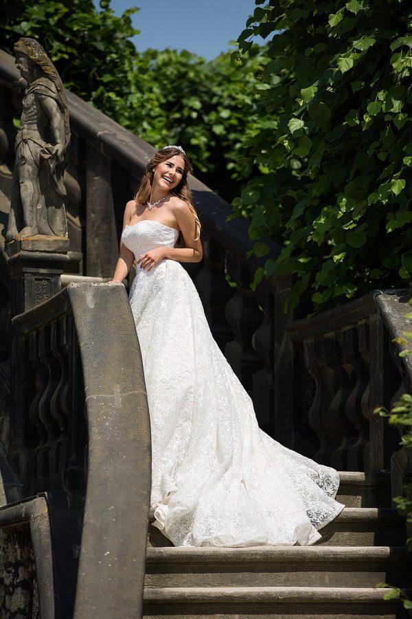 Brautkleid MissGermany 2019 Ivory Elsa MGB24 4 Bei Avorio Vestito Brautmode In Berlin