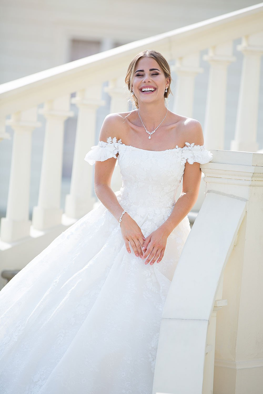 Brautkleid MissGermany 2019 Ivory Leticia MGB22 1 Bei Avorio Vestito Brautmode In Berlin