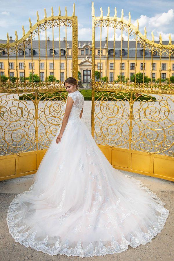 Brautkleid MissGermany 2019 Ivory Marlis MGB14 2 Bei Avorio Vestito Brautmode In Berlin