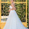 Brautkleid MissGermany 2019 Ivory Romina MGB32 1 Bei Avorio Vestito Brautmode In Berlin