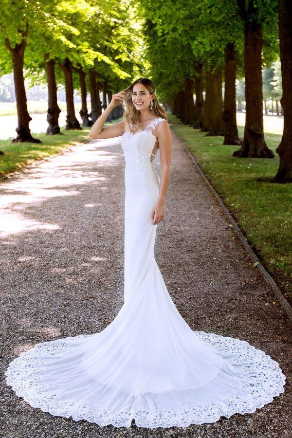 Brautkleid MissGermany 2019 Ivory Sofie MGB29 1 Bei Avorio Vestito Brautmode In Berlin