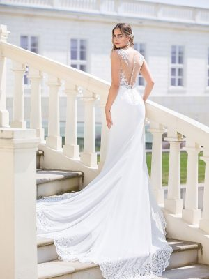Brautkleid MissGermany 2019 Ivory Sofie MGB29 3 Bei Avorio Vestito Brautmode In Berlin