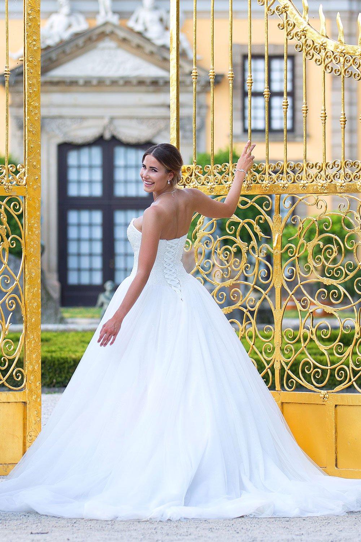 Brautkleid MissGermany 2019 Ivory Vivian MGB21 5 Bei Avorio Vestito Brautmode In Berlin