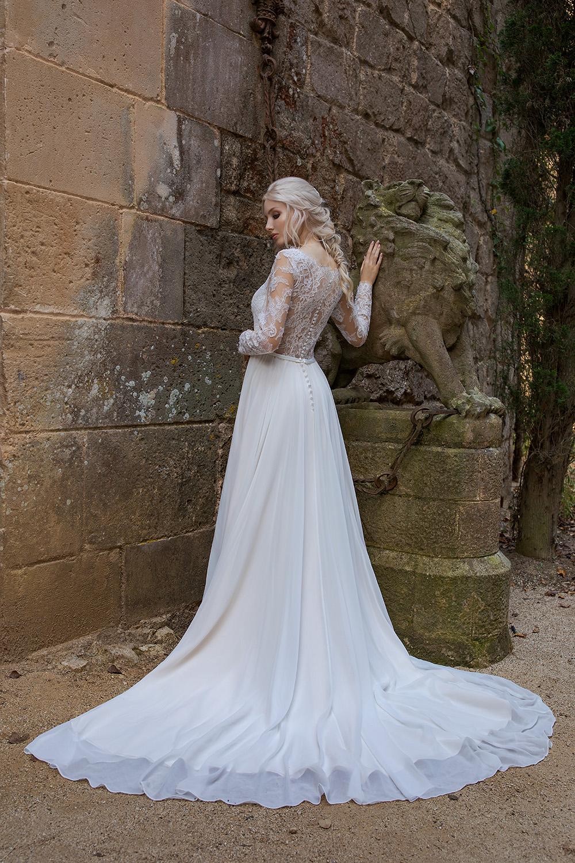 Brautkleid Ivory Aida B1963 3 Guenstiges Hochzeitskleid 2019 Bei Avorio Vestito Eiche Berlin