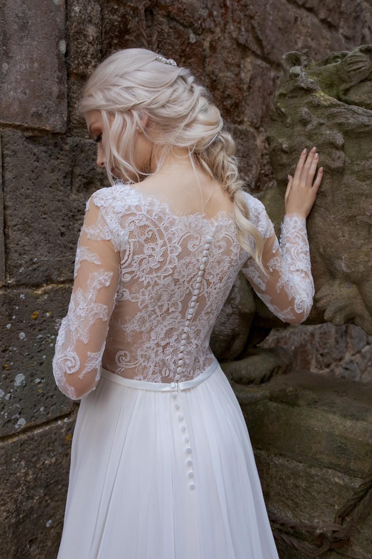 Brautkleid Ivory Aida B1963 4 Guenstiges Hochzeitskleid 2019 Bei Avorio Vestito Eiche Berlin