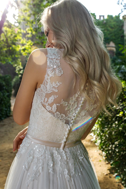Brautkleid Ivory Alisha B1953 3 Guenstiges Hochzeitskleid 2019 Bei Avorio Vestito Eiche Berlin