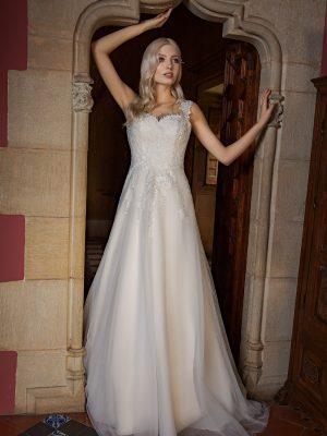 Brautkleid Ivory Aurora B1955 1 Guenstiges Hochzeitskleid 2019 Bei Avorio Vestito Eiche Berlin