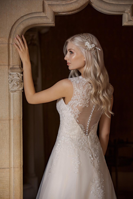 Brautkleid Ivory Aurora B1955 4 Guenstiges Hochzeitskleid 2019 Bei Avorio Vestito Eiche Berlin