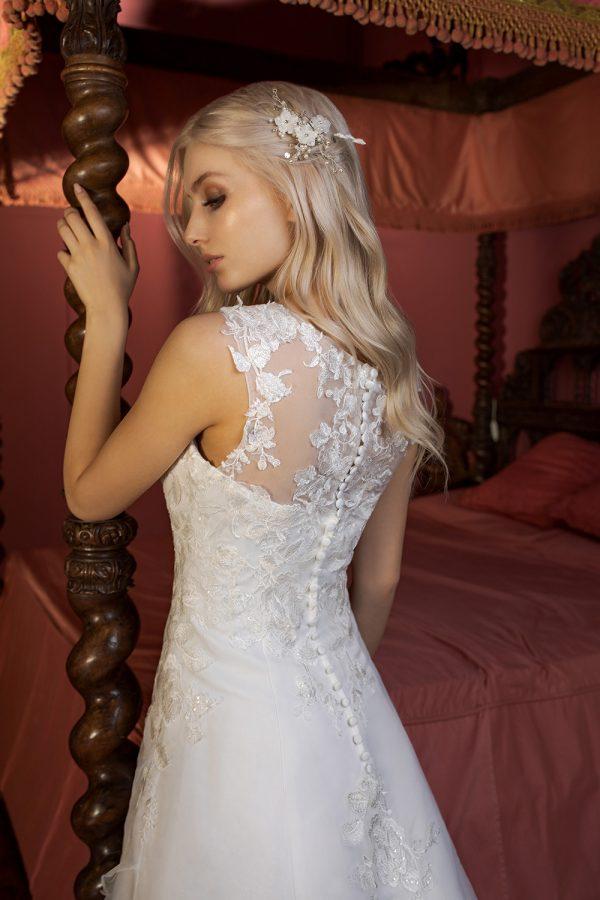 Brautkleid Ivory Delia B1958 3 Guenstiges Hochzeitskleid 2019 Bei Avorio Vestito Eiche Berlin