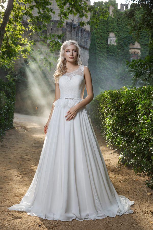 Brautkleid Ivory Ella B1979 1 Guenstiges Hochzeitskleid 2019 Bei Avorio Vestito Eiche Berlin