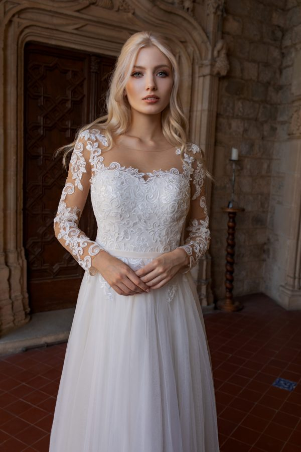 Brautkleid Ivory Kassandra B1930 2 Guenstiges Hochzeitskleid 2019 Bei Avorio Vestito Eiche Berlin