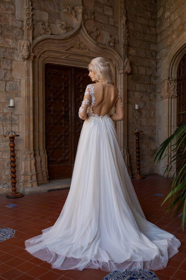Brautkleid Ivory Kassandra B1930 3 Guenstiges Hochzeitskleid 2019 Bei Avorio Vestito Eiche Berlin