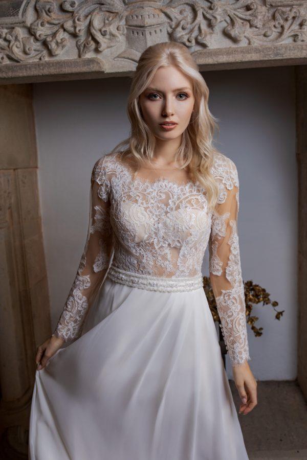 Brautkleid Ivory Kiana B1962 2 Guenstiges Hochzeitskleid 2019 Bei Avorio Vestito Eiche Berlin
