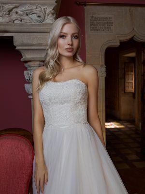 Brautkleid Ivory Maxima B1959 2 Guenstiges Hochzeitskleid 2019 Bei Avorio Vestito Eiche Berlin