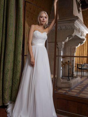 Brautkleid Ivory Milena B1952 1 Guenstiges Hochzeitskleid 2019 Bei Avorio Vestito Eiche Berlin