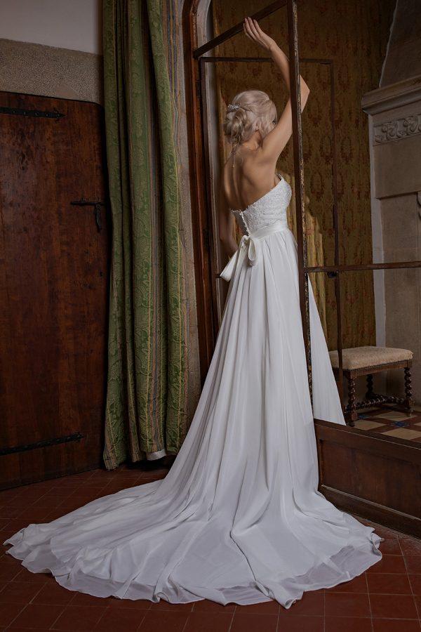 Brautkleid Ivory Milena B1952 3 Guenstiges Hochzeitskleid 2019 Bei Avorio Vestito Eiche Berlin