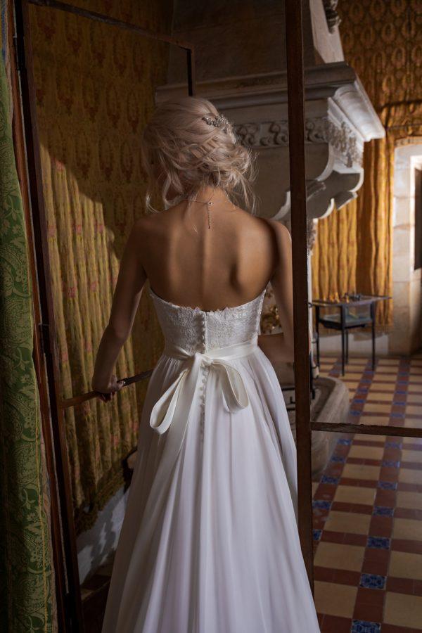 Brautkleid Ivory Milena B1952 4 Guenstiges Hochzeitskleid 2019 Bei Avorio Vestito Eiche Berlin