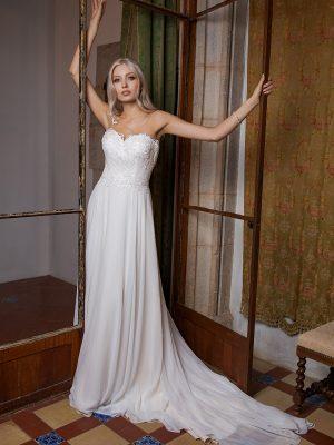 Brautkleid Ivory Octavia B1961 1 Guenstiges Hochzeitskleid 2019 Bei Avorio Vestito Eiche Berlin
