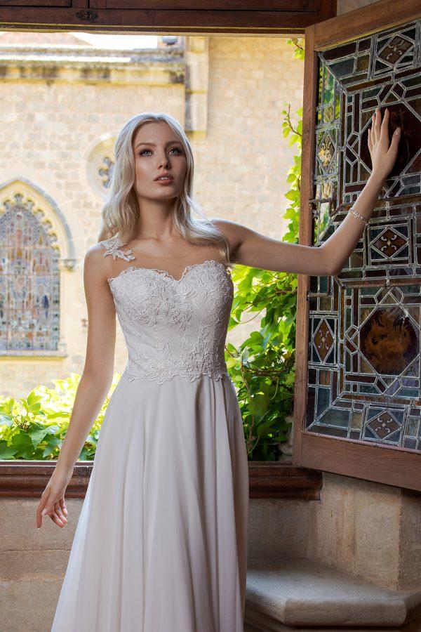 Brautkleid Ivory Octavia B1961 2 Guenstiges Hochzeitskleid 2019 Bei Avorio Vestito Eiche Berlin