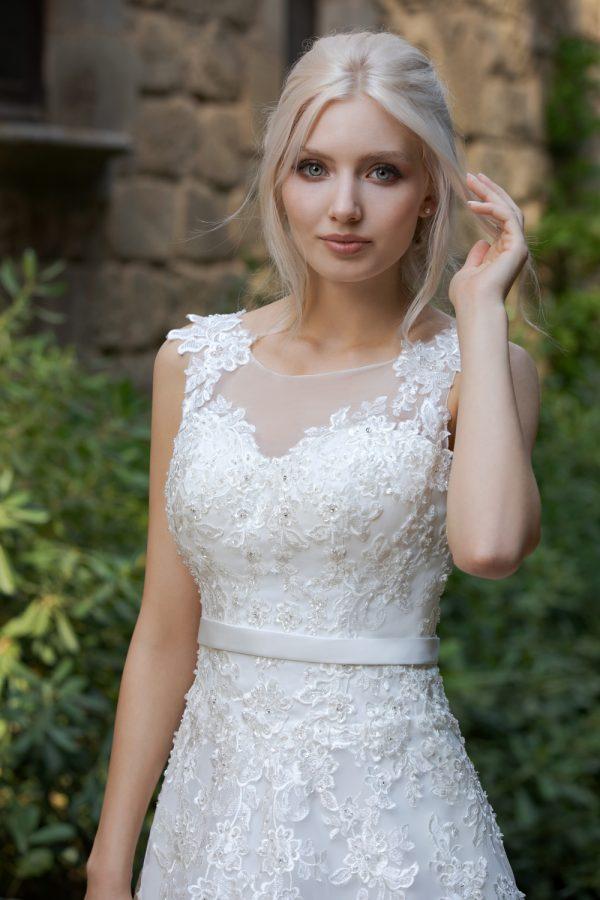 Brautkleid Ivory Rafaela B1954 2 Guenstiges Hochzeitskleid 2019 Bei Avorio Vestito Eiche Berlin