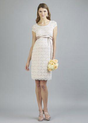 Sweetbelly 2019 Umstandskleid Allegra Vintage Rose Ivory Kurzes Kleid Avorio Vestito Eiche Brautmode Berlin