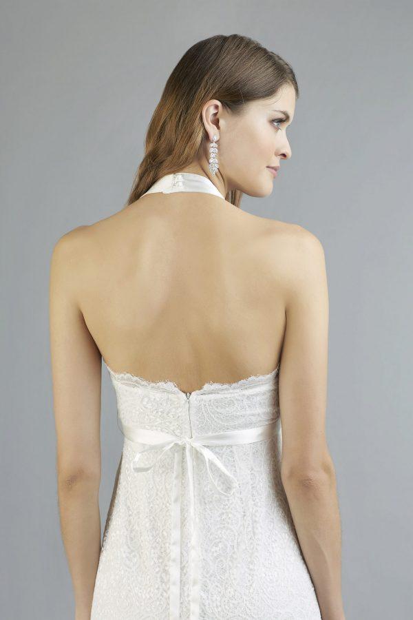 Sweetbelly 2019 Umstandskleid Chiara Ivory Kurzes Kleid Detail Avorio Vestito Eiche Brautmode Berlin