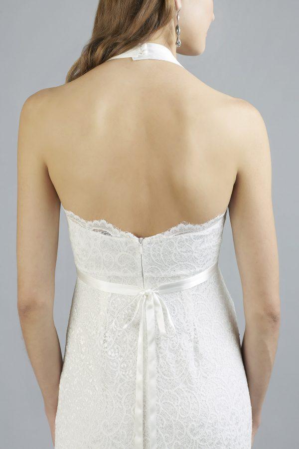 Sweetbelly 2019 Umstandskleid Chiara Ivory Langes Kleid Detail Avorio Vestito Eiche Brautmode Berlin