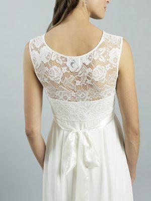 Sweetbelly 2019 Umstandskleid Lucy Ivory Langes Kleid Detail 2 Avorio Vestito Eiche Brautmode Berlin