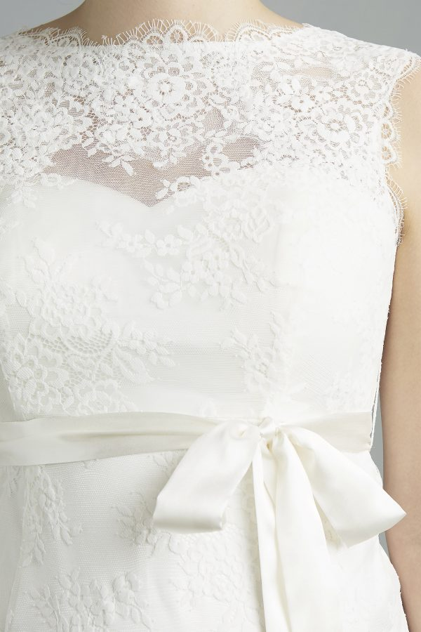 Sweetbelly 2019 Umstandskleid Madelaine Ivory Detail 1 Avorio Vestito Eiche Brautmode Berlin