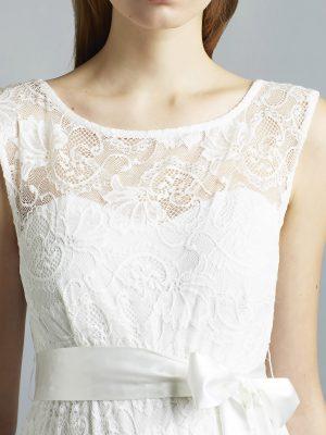Sweetbelly 2019 Umstandskleid Ruby Ivory Langes Kleid Detail 1 Avorio Vestito Eiche Brautmode Berlin