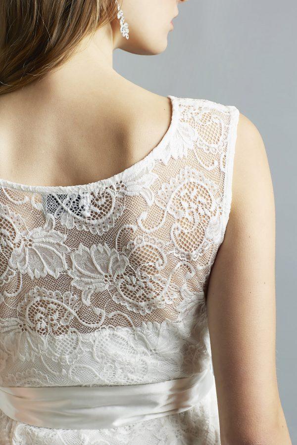 Sweetbelly 2019 Umstandskleid Ruby Ivory Langes Kleid Detail 2 Avorio Vestito Eiche Brautmode Berlin