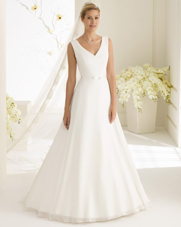 Brautkleid Bianco Evento 2019 DALILA 1 Bei Avorio Vestito BrideStore And More Brautmode Berlin