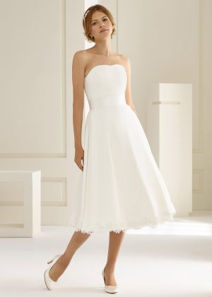 Brautkleid Bianco Evento 2019 PEONIA 1 Bei Avorio Vestito BrideStore And More Brautmode Berlin