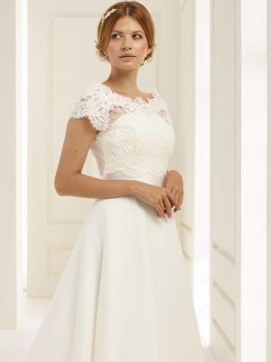 Brautkleid Bianco Evento 2019 PEONIA 2 Bei Avorio Vestito BrideStore And More Brautmode Berlin