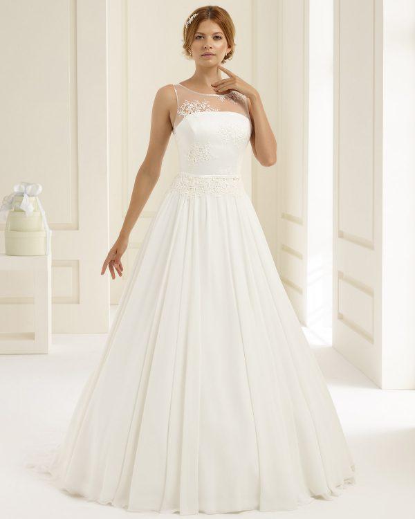 Brautkleid Bianco Evento 2019 Bridal Dress ADRIA 1 Bei Avorio Vestito BrideStore And More Brautmode Berlin