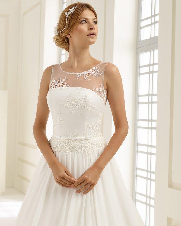 Brautkleid Bianco Evento 2019 Bridal Dress ADRIA 2 Bei Avorio Vestito BrideStore And More Brautmode Berlin