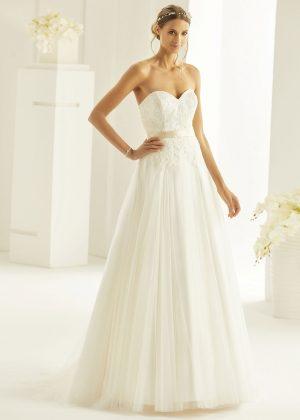 Brautkleid Bianco Evento 2019 Bridal Dress ANGELICA 1 Bei Avorio Vestito BrideStore And More Brautmode Berlin