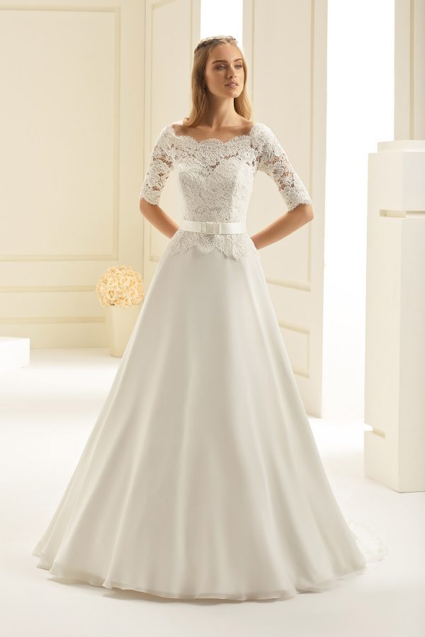 Brautkleid Bianco Evento 2019 Bridal Dress ASPEN 1 Bei Avorio Vestito BrideStore And More Brautmode Berlin