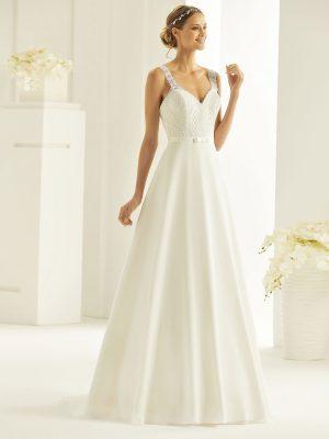 Brautkleid Bianco Evento 2019 Bridal Dress BLANCA 1 Bei Avorio Vestito BrideStore And More Brautmode Berlin