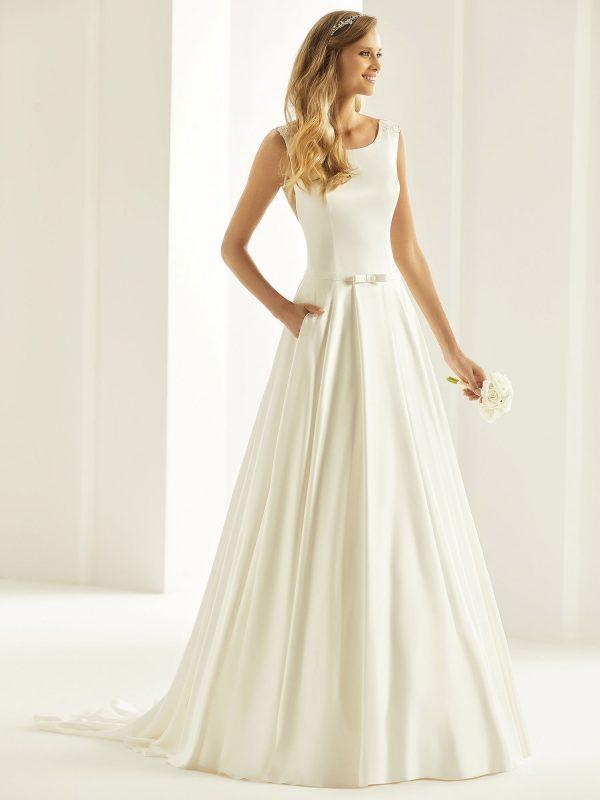 Brautkleid Bianco Evento 2019 Bridal Dress CASSANDRA 1 Bei Avorio Vestito BrideStore And More Brautmode Berlin