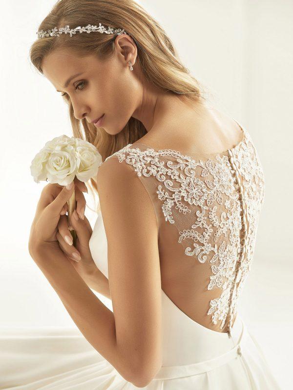 Brautkleid Bianco Evento 2019 Bridal Dress CASSANDRA 2 Bei Avorio Vestito BrideStore And More Brautmode Berlin
