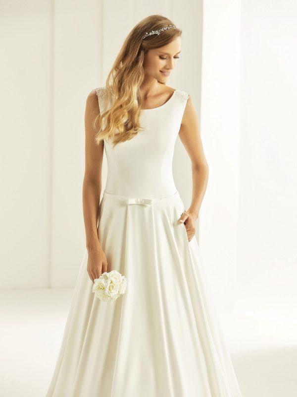 Brautkleid Bianco Evento 2019 Bridal Dress CASSANDRA 4 Bei Avorio Vestito BrideStore And More Brautmode Berlin