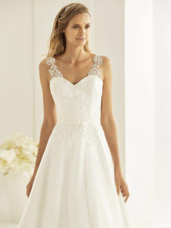 Brautkleid Bianco Evento 2019 Bridal Dress FIONA 2 Bei Avorio Vestito BrideStore And More Brautmode Berlin